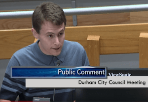 Duke Student Asks Durham Hrc To Approve Well Researched Draft Proposal